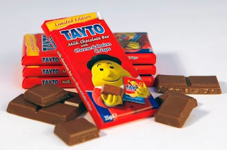 Mr. Tayto finally gives in to his sweet tooth