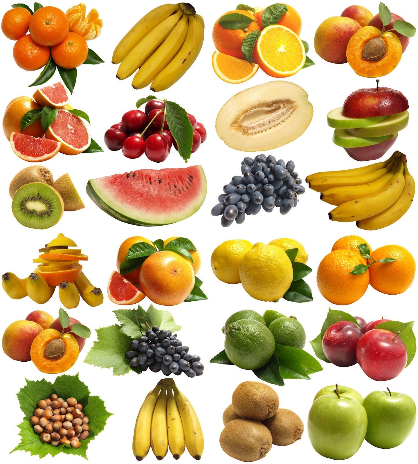 Banco de im genes 24 fotograf as de frutas con fondo for Comidas con d