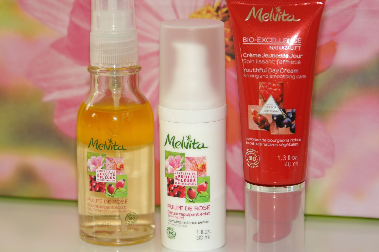 Melvita new skincare releases, Melvita Plumping Rose range, Melvita Plumping Radiance Duo, Melvita Plumping Radiance Serum, Melvita Plumping Radiance Cream, Melvita outhful Eye Contour, Youthful Day Cream*, Youthful Night Cream, Youthful Serum and Youthful Extraordinary Water, Bio-Excellence Naturalift range, beauty, review, skincare,