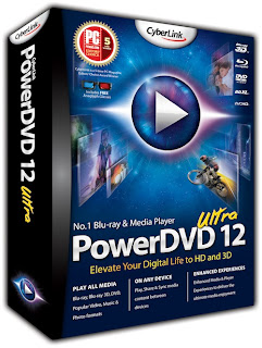 CyberLink PowerDVD Ultra 12 Full Version Serial Key Crack Patch