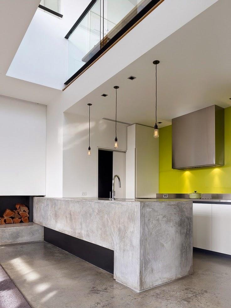 Cocinas en microcemento decoracion con microcemento - Encimeras de microcemento ...