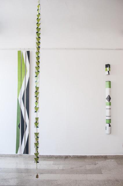 "Otvaranje izložbe ""Vertikale"" Aleksandre Lung"