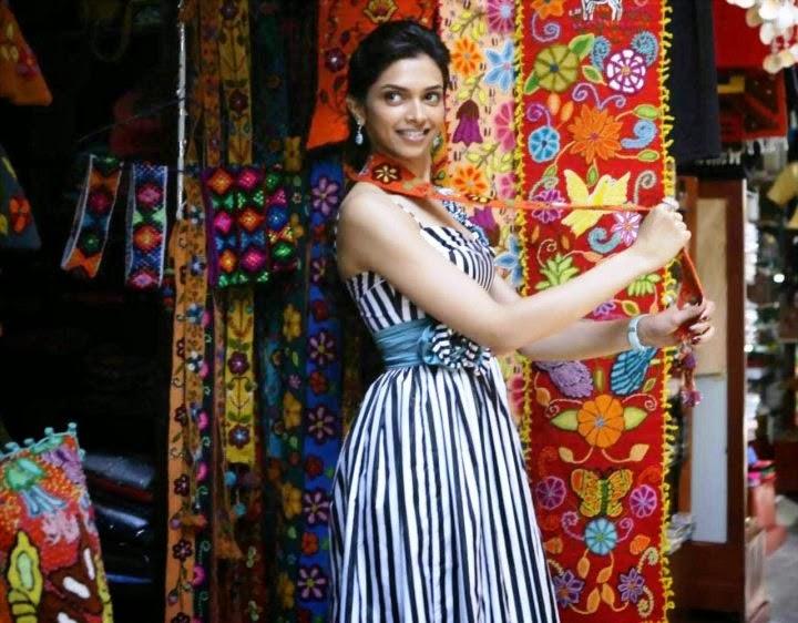 Deepika Padukone's Skirt flews up underwear seen on sets of her film embarassing moments of Deepika Padukone