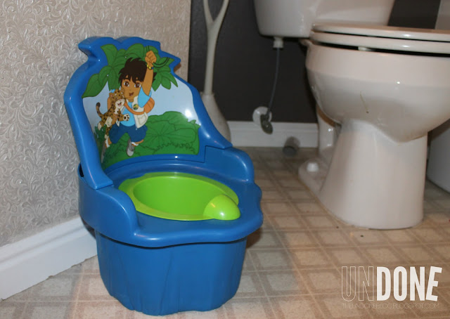 UNDONE: Potty Training a toddler - Little Potty