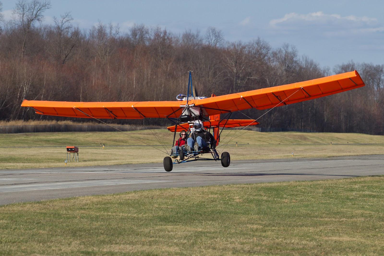 Ultralight aircraft at Randall Airport