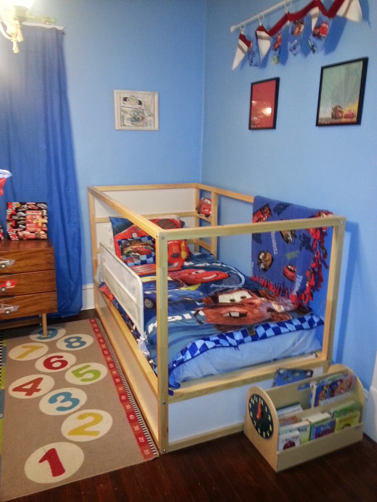 New For The Bedroom For Him Mommys Block Party Wordless Wednesdays New Big Boy Bed