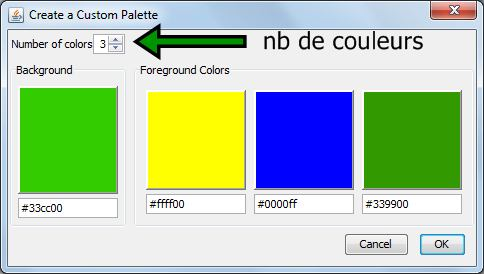 Wordle mode d 39 emploi - Palette de couleur vert ...