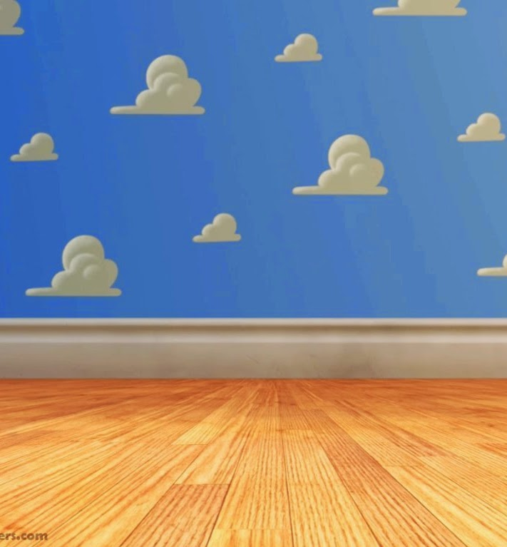 Quarto Toy Story ~ Julia Reis DIY parede Toy Story