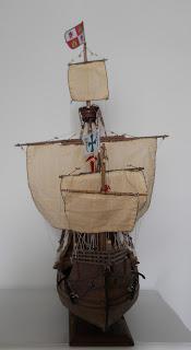 christopher columbus ship model