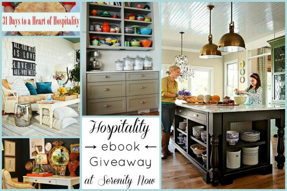 31 Days to a Heart of Hospitality, Review & ebook Giveaway, at Serenity Now