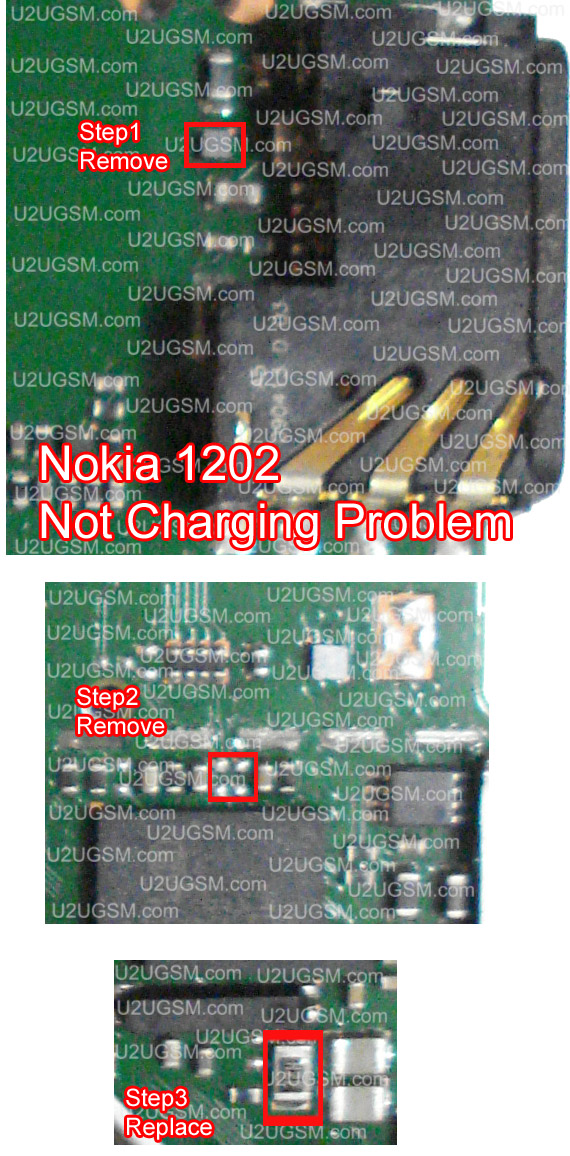 Nokia 1202 Not Charging Problem Solution 100  Tested