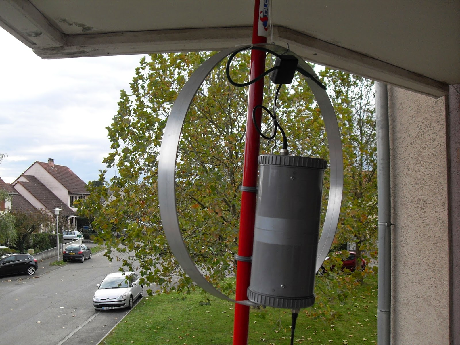 mes trucs radio f6hky  magnetic loop antenna