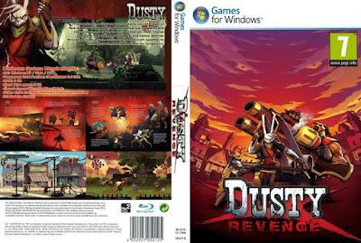 Jogo Dusty Revenge PC DVD Capa