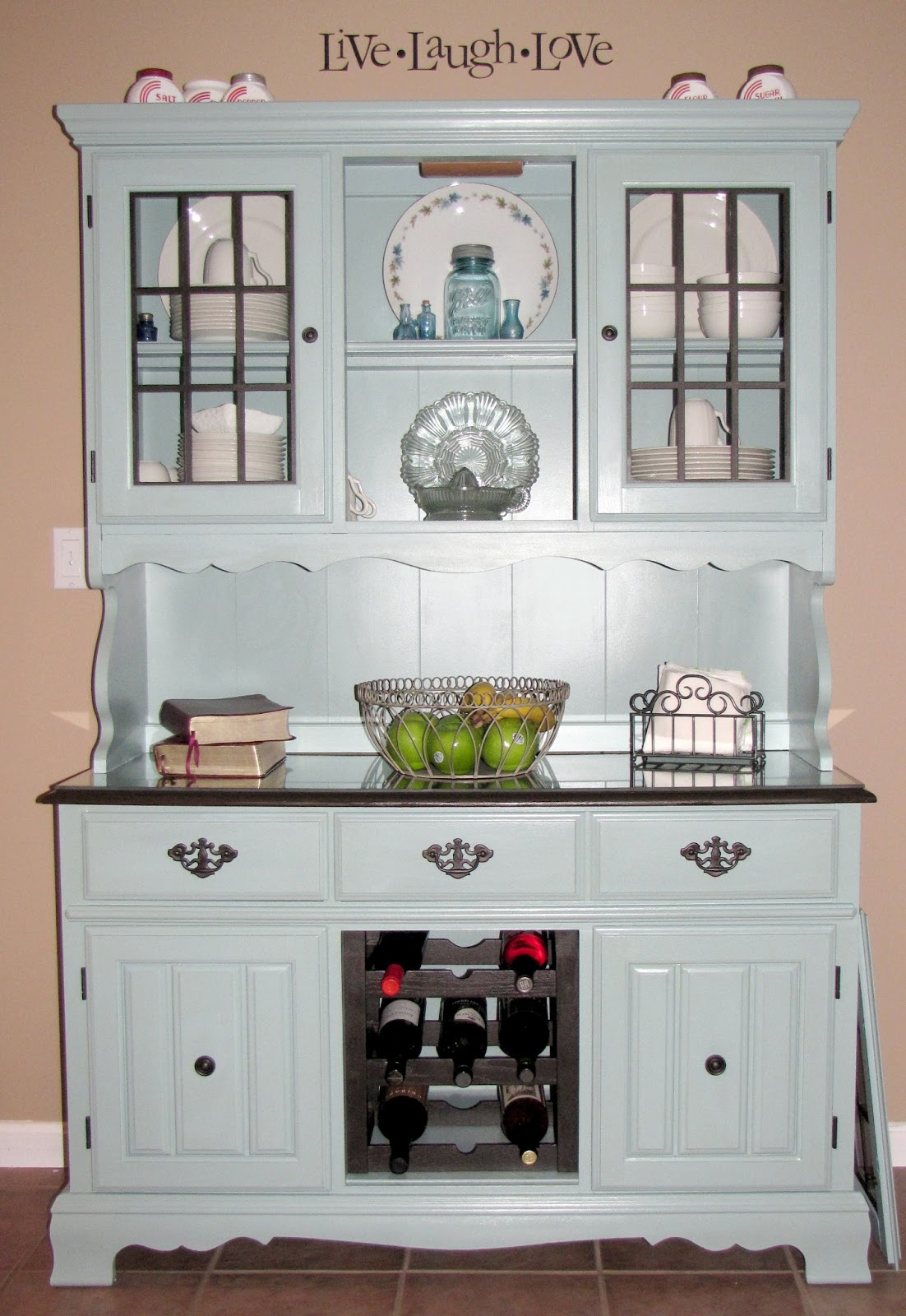 Rambling Annie Coming Soon Painted Refurbished China Hutch