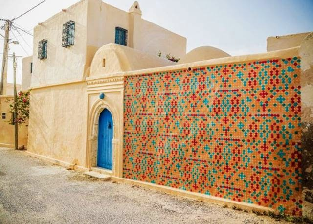 "Djerba — The ""Island of Dreams"" in Tunisia which is filled with street art"