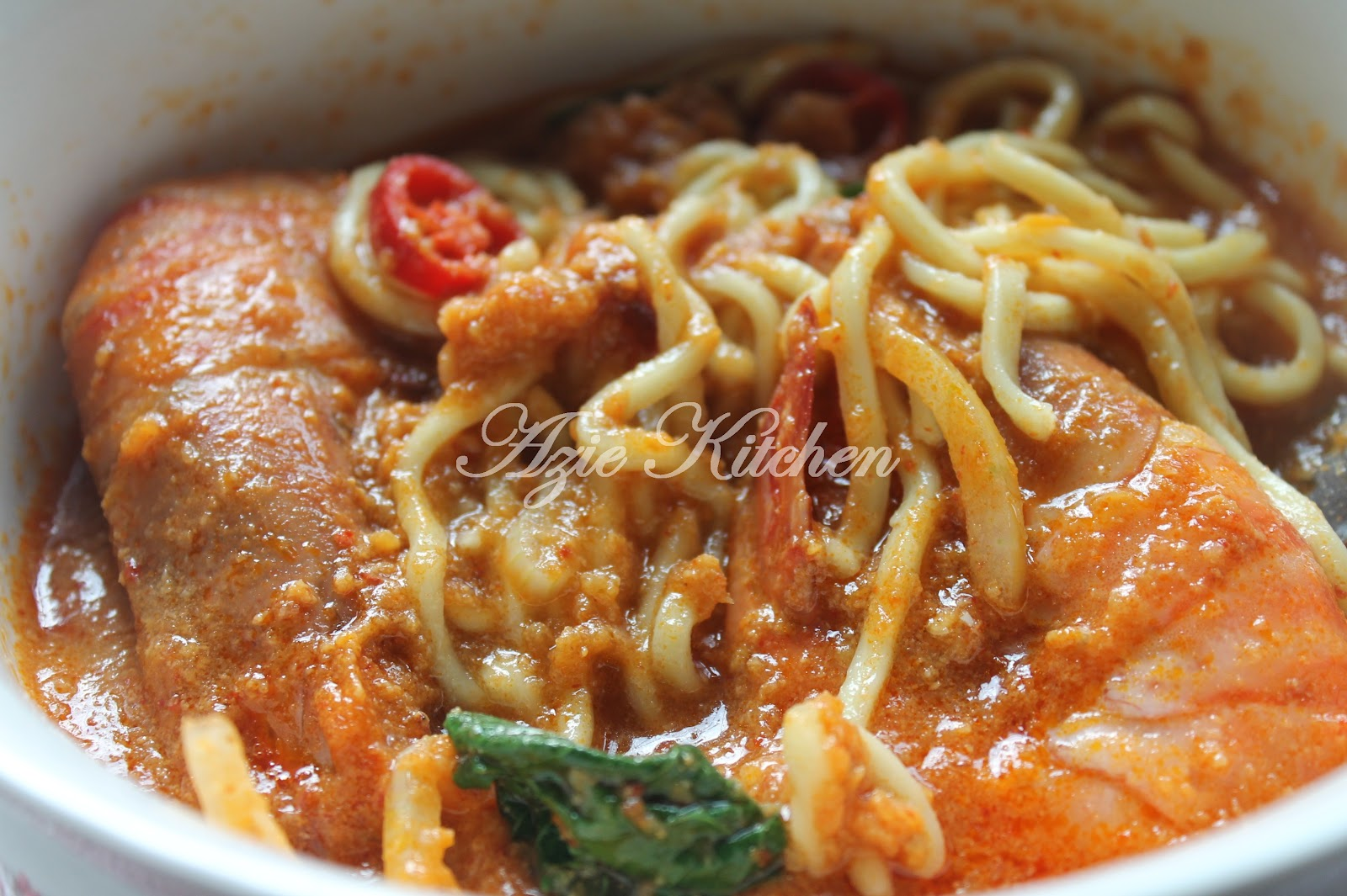 Mee Udang Sedap Azie Kitchen