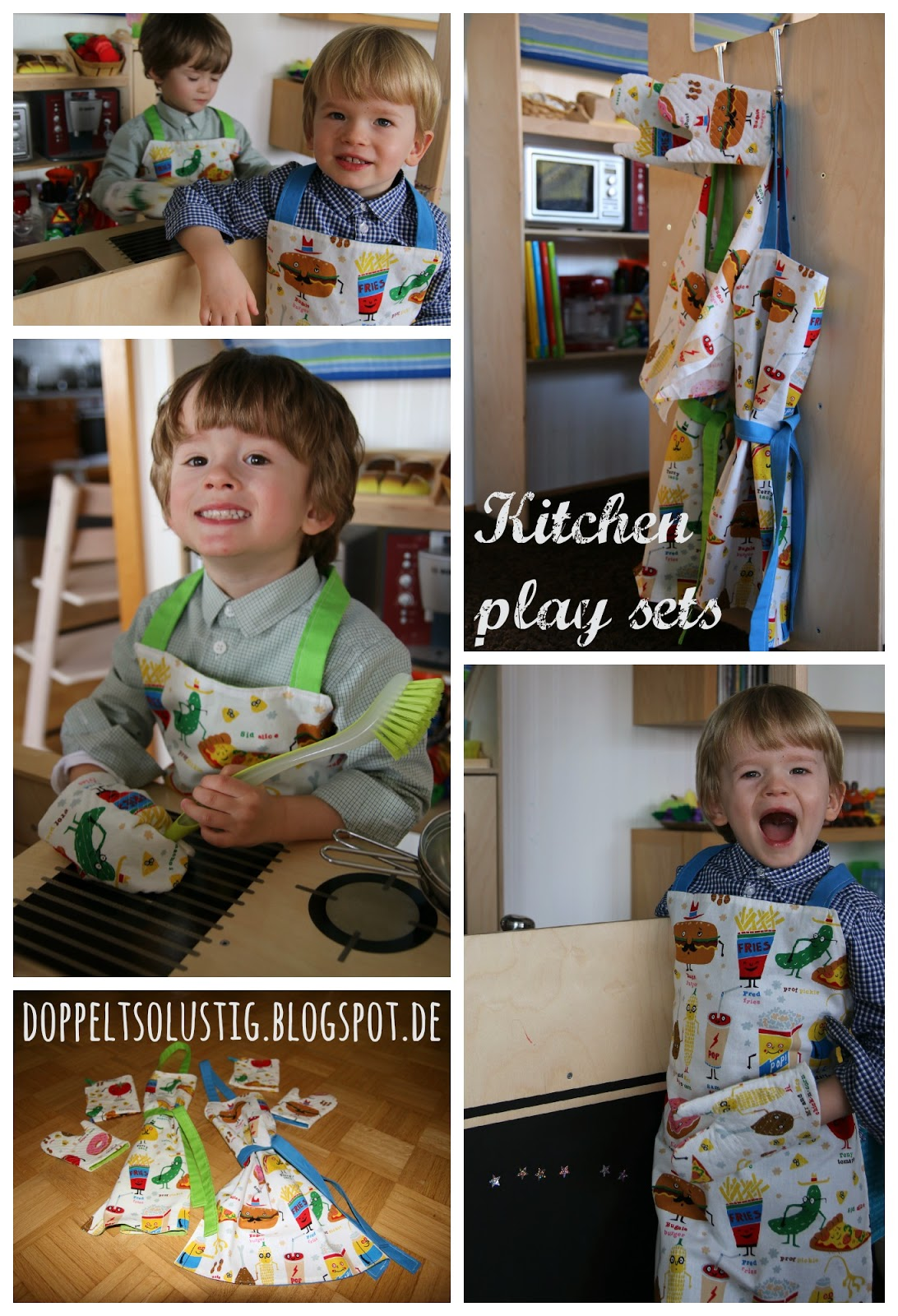 Kitchen play sets | Twice the fun