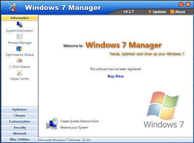 Windows 7 Manager Terbaru