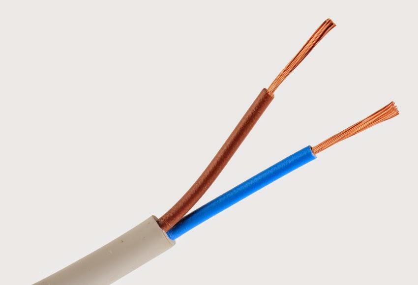 Cable eléctrico de 2 polos