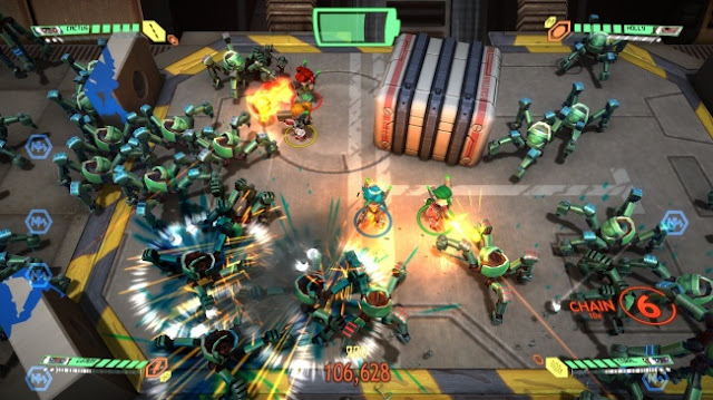 Screenshot of video game Assault Android Cactus