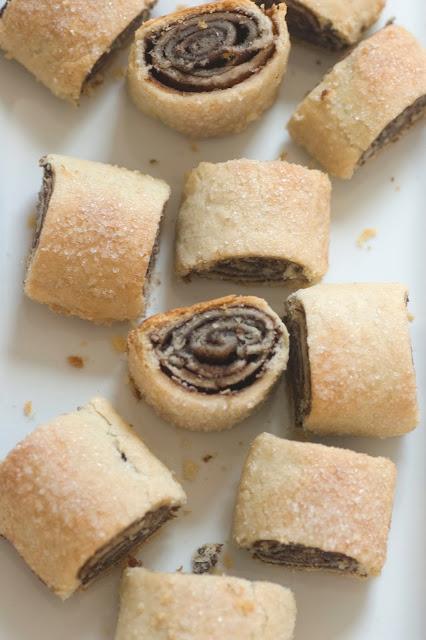 עוגיות שוקולד מגולגלות