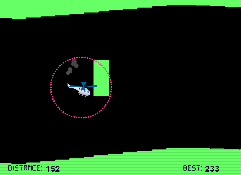 Snapshot of the Copter Game