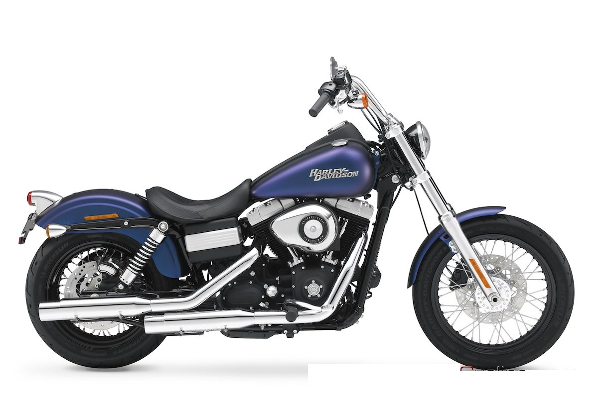 Harley-Davidson Dyna Street Bob_Latest Bike Models_MyClipta