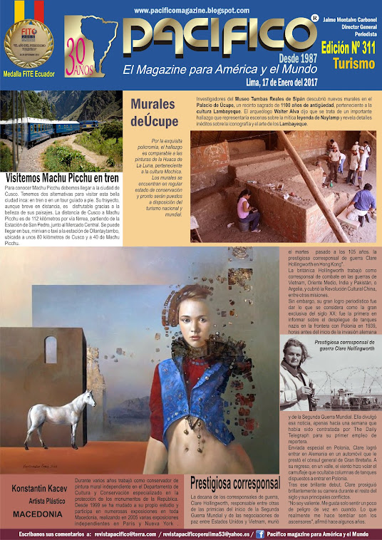 Revista Pacifico Nº 311 Turismo