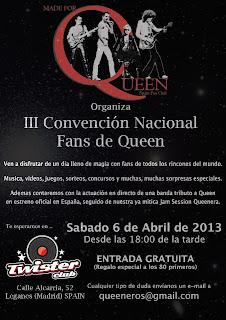 III Quedada de Fans de Queen en España