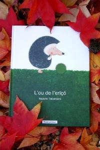 Portada Llibre infantil l'ou de l'eriçó