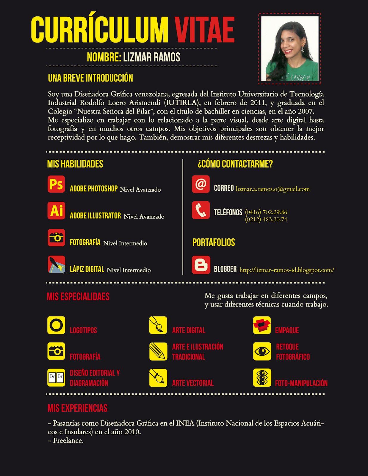 Como hacer un resume creativo para diseño gráfico | Guía Portafolio ...