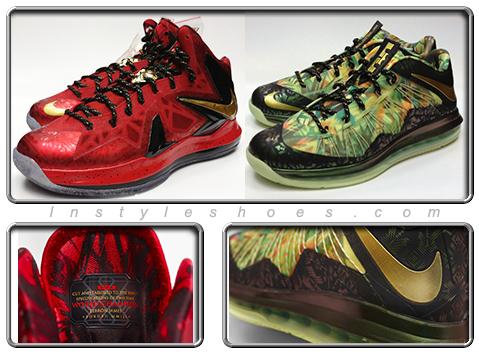 085c4fcf9071 Nike Lebron X Championship Celebration Pack Available - Instyleshoes.com