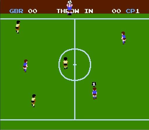 Soccer NES Screenshot 4