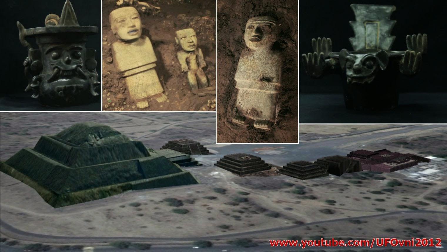 Ancienne entrée de la pègre découverte à Teotihuacan, au Mexique