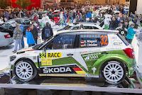 Rallyeauto von Sepp Wigand Skoda Fabia RS 2000 WRC