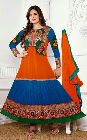 Zarine Khan Anarkali Collection
