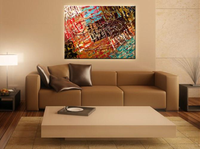 Украшение интерьера живописью: особенности и преимущества