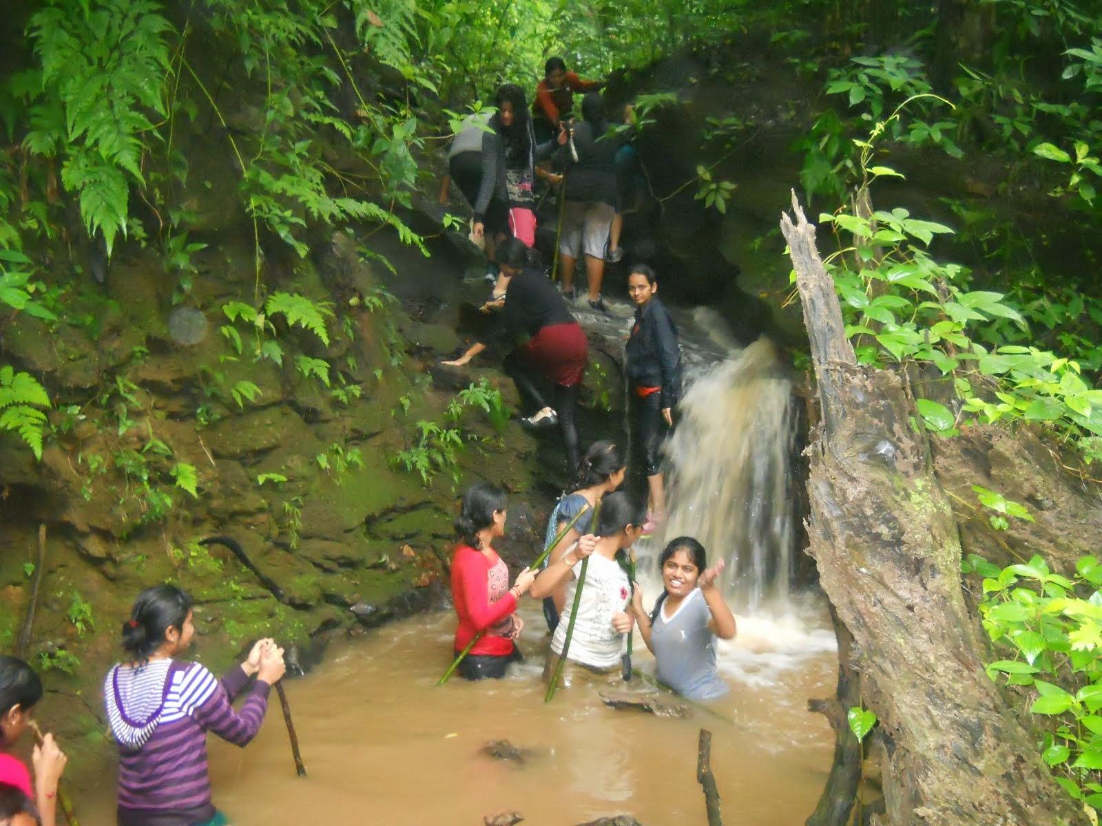 stream treck  by Ajjimane visitors