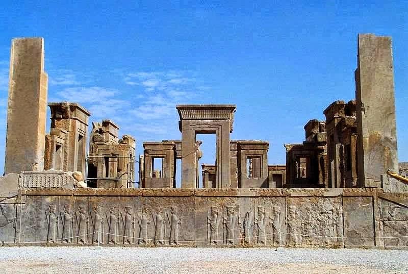 """10 Kota Kuno yang """"Hilang"""" di Dunia,persepolis"""