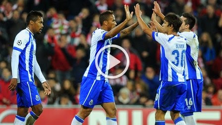 Athletic Bilbao 0-2 FC Porto