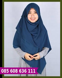 jilbab segi empat lebar murah