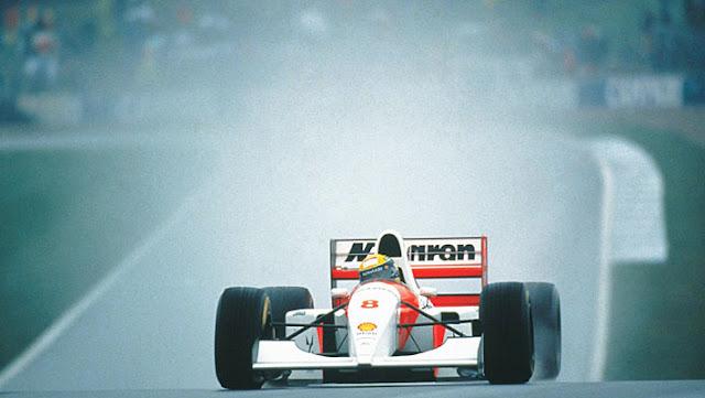 Ayrton Senna maior piloto de todos os tempos