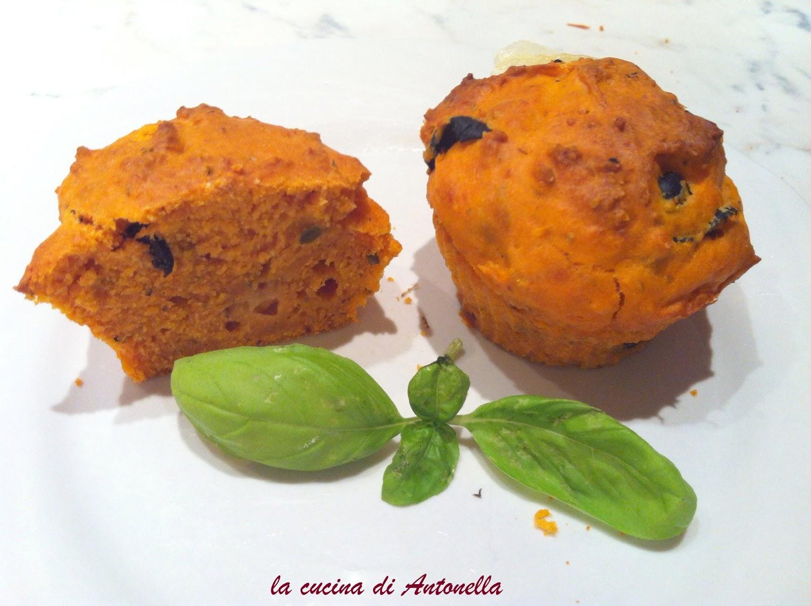 La cucina di antonella muffin alla pizza - La cucina di antonella ...