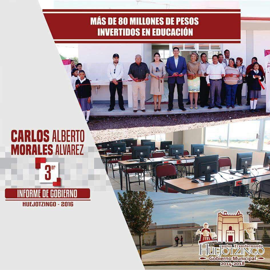 Tercer Informe de Gobierno de Carlos Alberto Morales Álvarez