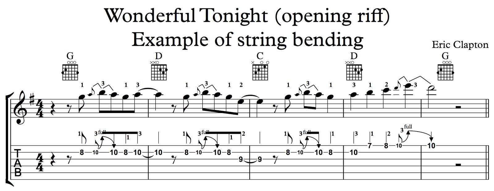 Ghs Guitar Guitar Technique String Bending