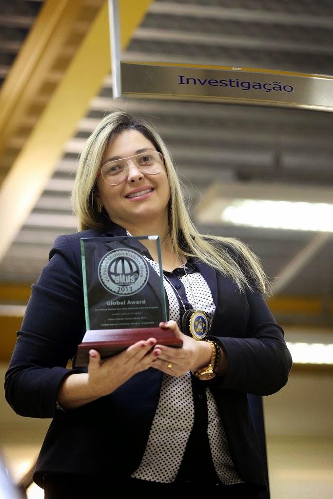 delegada-titular Juliana Amorim