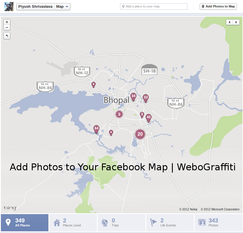 How to Add Photos to Facebook Map