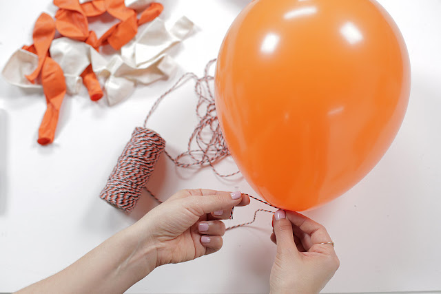 Decoração de Halloween com balões - PAP 01