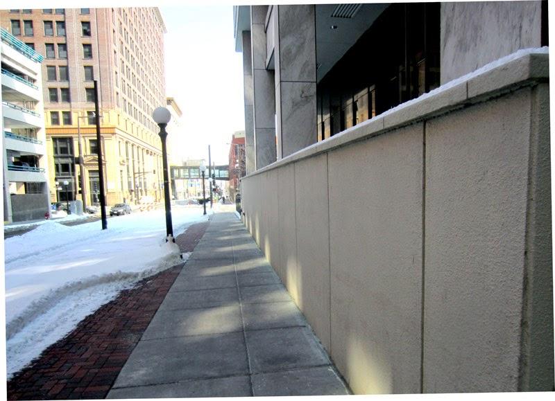 Blank Wall 4th Street