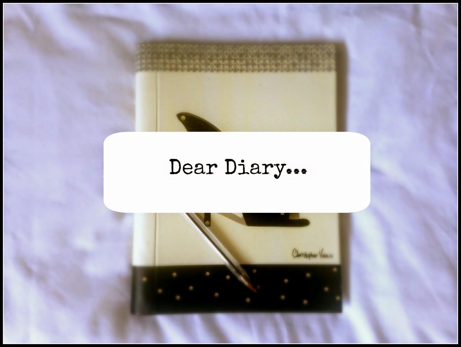 Dear Diary #2….
